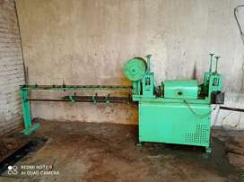Spring wire catting machine