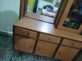 Dressing Table and a Storage almirah
