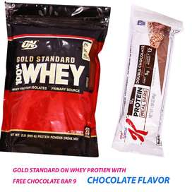whey protein 2 lbs with free mealbar
