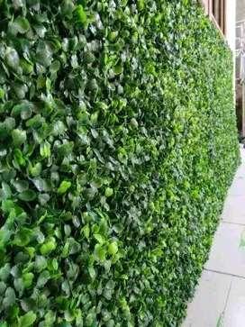 Daun Dolar Sintetis Buat vertikal garden tembok  Bingung tuk dekorasi