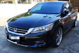 Accord VTI-L 2013 hitam  plat AB km rendah