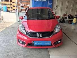 [OLX Autos] Honda Brio Satya 1.2 E Bensin 2017 MT Merah #MJ Motor