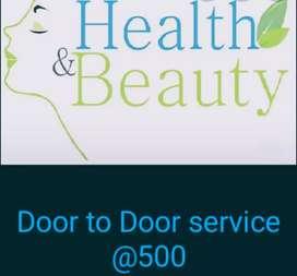 Health and beauty massage service