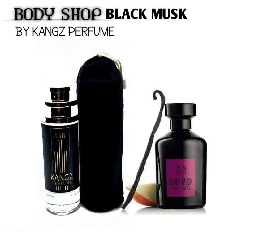 Parfum Body Shop Black Musk / Parfum dengan aroma manis dan sensual 0