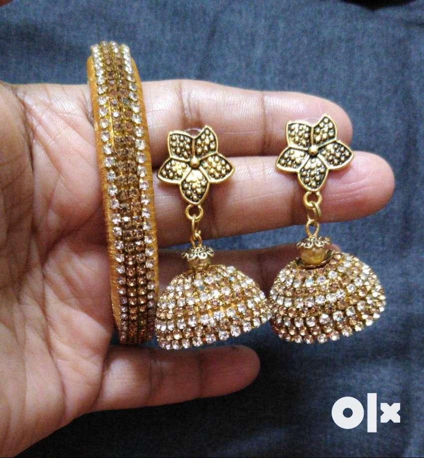 Handmade Silk Thread Jewelry 0