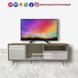 SEANDRY JAYA Furniture Depok/rak tv rtv minimalis kekinian murah/ciner