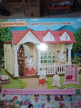 mainan anak sweet raspbery home sylvanian families