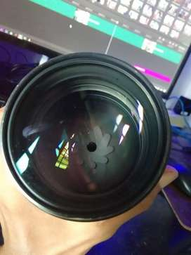 Lensa nikon afd 135mm f2