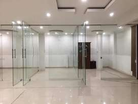 All toughened Glass partition works at low rates