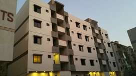 Vip Boundary wall flats available on booking in Fb area block 9.