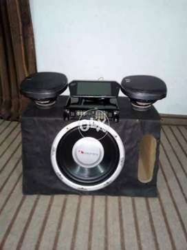 Sound System  Complete with woofer