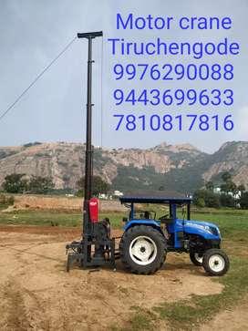 Tractor model motor crane