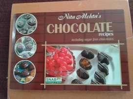 A  recipes book for chocolate