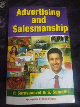 Advertising and Salesmanship