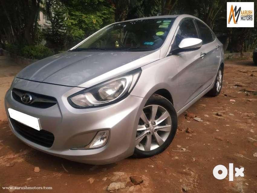Hyundai Verna Fluidic 1.6 VTVT SX, 2014, Petrol 0