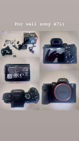Camera Sony A7ii