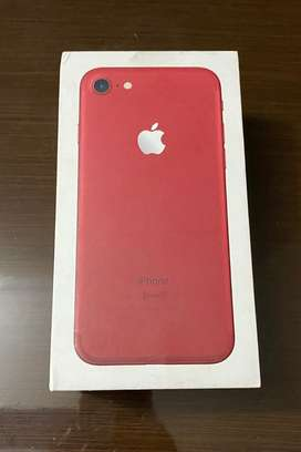 iPhone 7 Product Red Orignal Box with Original Unsed Accessories