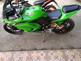 Yang hobi moge nya bos kawasaki ninja 250cc hrga d bawah pasaran