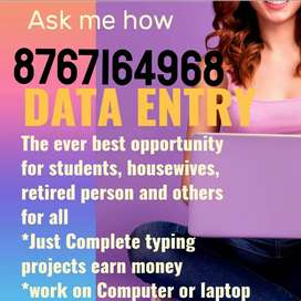 Make your career bright with data entry work from home