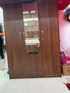 Brand new damro wardrobe (triple door)