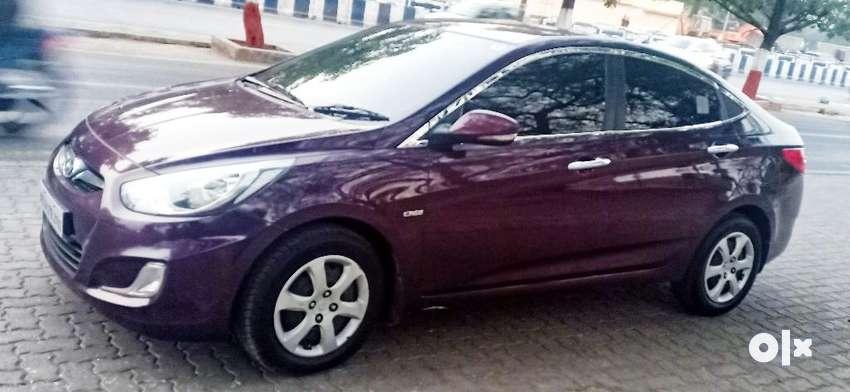 Hyundai Verna Fluidic 1.4 CRDi EX, 2012, Diesel 0
