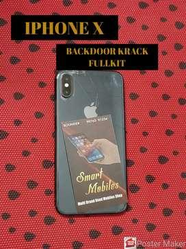 IPHONE X 64GB BACDOORB KRACK FULLKIT AVAILABLE