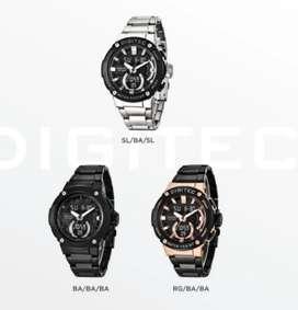 Jam tangan pria stainless berkelas
