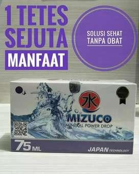 Air Mineral Alkaline Mizu Co Mizuco, Solusi Sehat Tanpa Obat