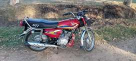 Honda CG125 very neat and clean bike one hand used very Good condition