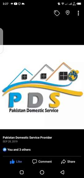 12hrs House Maid required