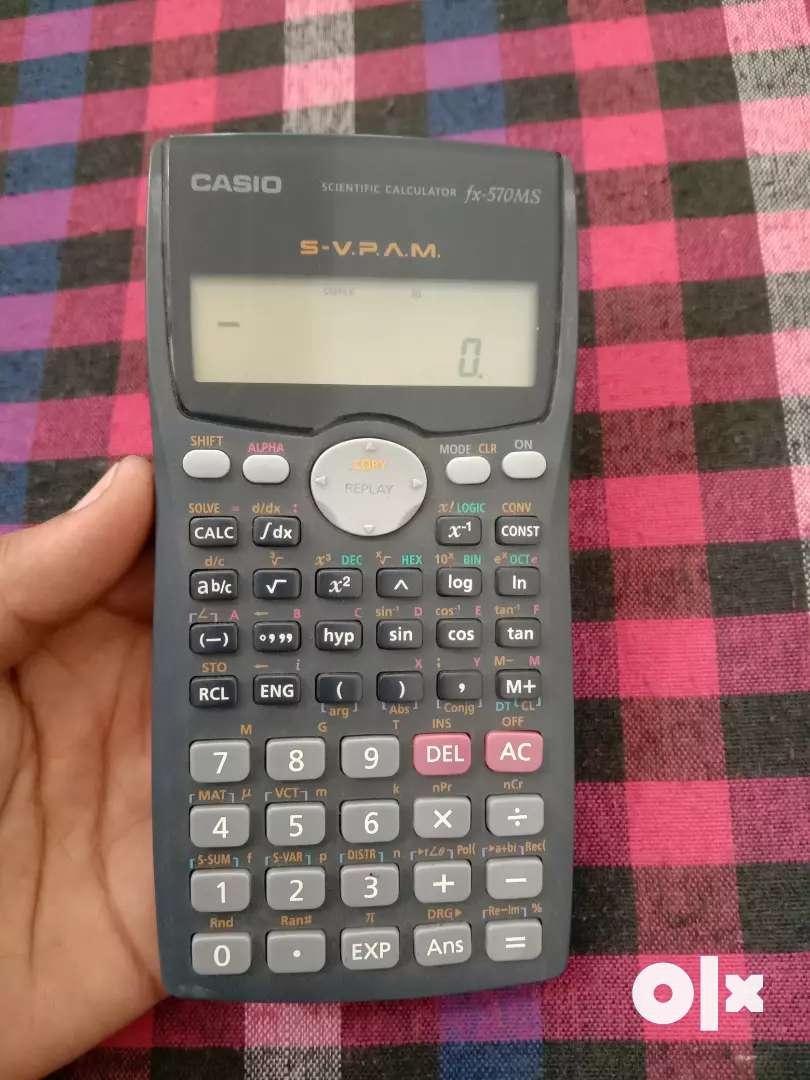 CASIO fx-570MS 0