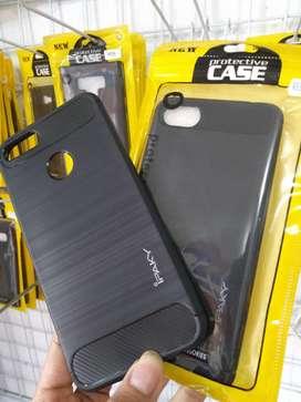softcase soft case ipaky carbon casing hitam tebal (sinar kita)