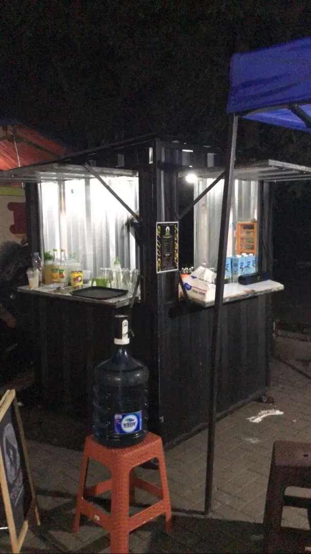 Booth container costum mini (Promo Harga) 0