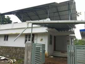 3.3 cent 800 sqft 2 bhk new build house at aluva near kadungallur