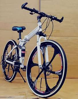 Bmw  folding cycle with 21 speed shimano gears