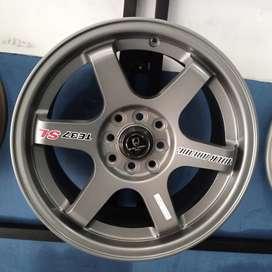 Velg mobil ring 16 te37sl untuk ignis baleno swift avanza cicilan 0%