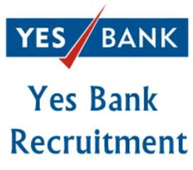 Required Sales executive for Yes Bank Credit card process