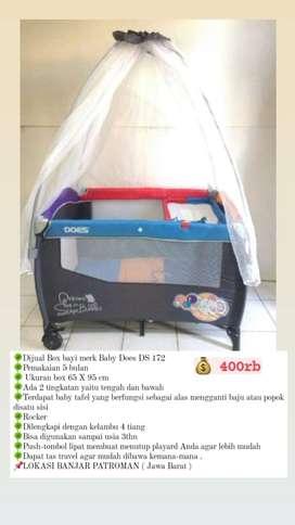 Box bayi merk Baby Does DS-172