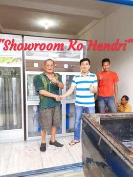 Paket Usaha Depot air minum air isi ulang galon Ko Hendri Showroom PLG