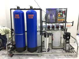 Mineral water 1000 LPH R.O Plant