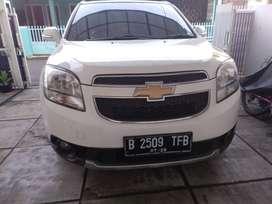 Chevrolet Orlando body mulus