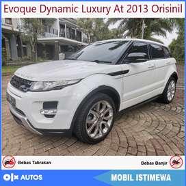 Range Rover Evoque Dynamic Luxury Si4 2013 Low KM Orisinil Bisa Kredit