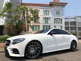 MERCEDES BENZ E300 COUPE AMG  2017 #evelyn