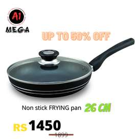 A1 round Frying pan non stick 20cm with one gift