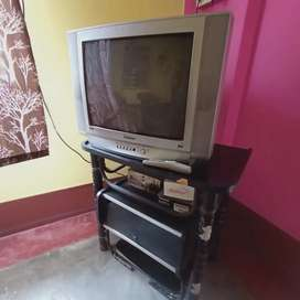 Samsung EURO MULTI TV (with TV stand)