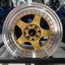 Credits VELg racing ring15 HSRwheel dobel pcd 8×100-114,3 Cicilan 0%