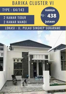 Rumah mewah minimalis cluster Barika 6