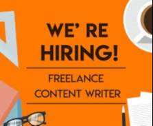 Content Writer For  Digital Marketing