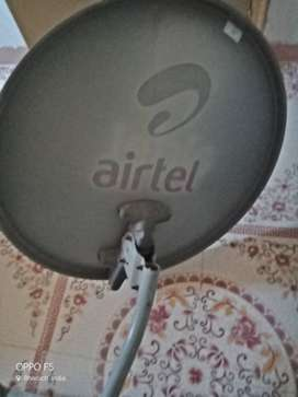 Airtel Digital TV Box with Disc