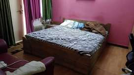 1room fully furnished with washroom in kanke road near reliance mart
